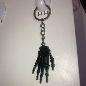 Skeleton hand keychain! 🤩